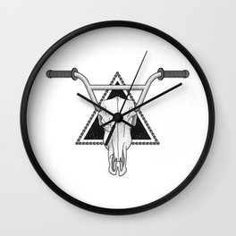 Ride Forever Wall Clock