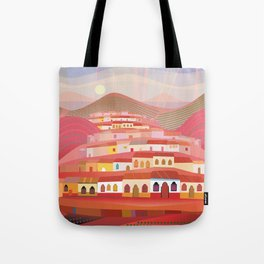 Afternoon in Guatemala Tote Bag