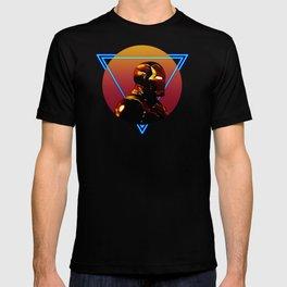 Iron Man 80's Alternative Character Poster T-shirt