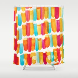 12 | 191128 | Abstract Watercolor Pattern Painting Shower Curtain