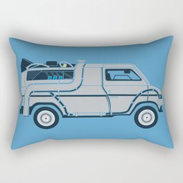 Back to The Future DeloreVan Rectangular Pillow