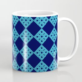 blue crochet crafts Coffee Mug