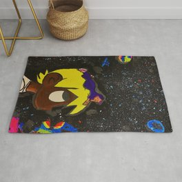 Uzi,painting,mini,small,poster,eternal,album,original,art,artwork,decor,rap,rapper,dope,canvas,cool, Rug