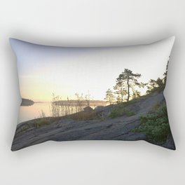 Perfect silence Rectangular Pillow