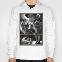 agent carter Hoodies featuring Agent Carter bnw by rnlaing