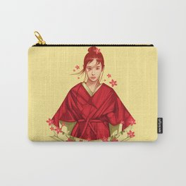 Soul Of Sakura Carry-All Pouch