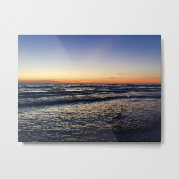 Sunset at Sable Metal Print