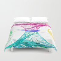 candy Duvet Covers featuring candy by haroulita
