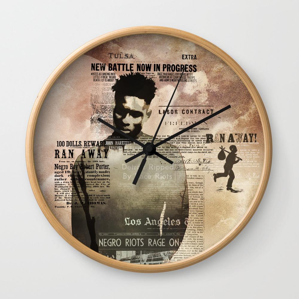 I AM U S  Wall Clock
