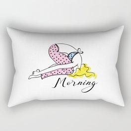 morning time Rectangular Pillow