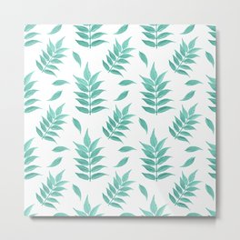Leaf No.1 Pattern Metal Print