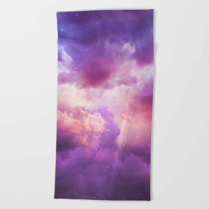 The Skies Are Painted Beach Towel