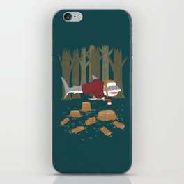 LumberJack Shark iPhone Skin