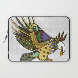 jewel eagle white Laptop Sleeve