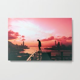 Intelligent life out there Metal Print