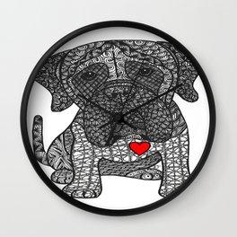 Grandeur - Mastiff Wall Clock