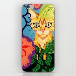 Garden Kitty iPhone Skin