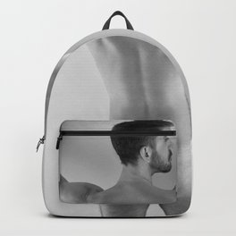 Hands Up Rear Nude Backpack