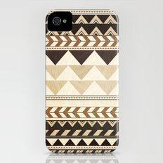 Woodwork Pattern iPhone (4, 4s) Slim Case