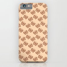 Butterflies brown Slim Case iPhone 6s