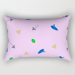 Legend of Zelda Pastel Print Rectangular Pillow