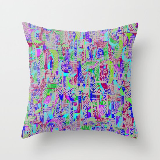 The Polaroad Project Throw Pillow