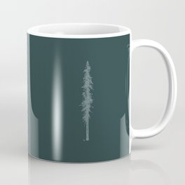 Love in the forest - green Coffee Mug