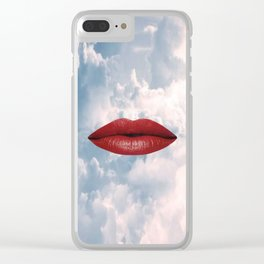 Missing You Clear iPhone Case