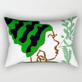 The Queen in You Rectangular Pillow