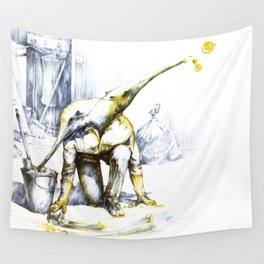 Two-faced anteater Wall Tapestry