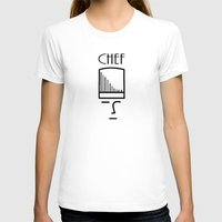 chef T-shirts featuring Chef by HebeTees