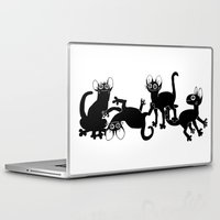 musa Laptop & iPad Skins featuring 4cats by musa