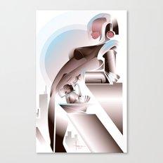 ANTICIPATION-White 2013 Canvas Print