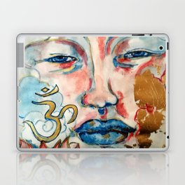 Buddah, lotus and OM Laptop & iPad Skin