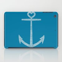 kpop iPad Cases featuring Love is the anchor by Picomodi
