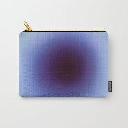Soft Deep Blue Colourscape Carry-All Pouch