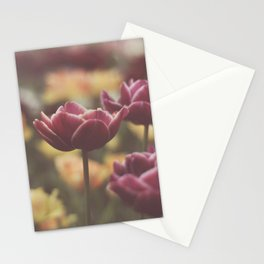 colors of spring Stationery Cards