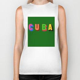 Cuba 2 Biker Tank