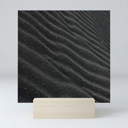 Black Sand Darkness Mini Art Print