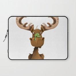 Moose Named Moe Laptop Sleeve