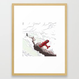 Red Baron Framed Art Print