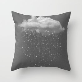 Let It Fall II Throw Pillow