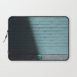Blue and shady cube Laptop Sleeve
