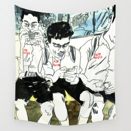 Numbered BTS Boys Wall Tapestry