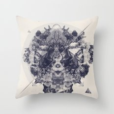 Neptunite Throw Pillow