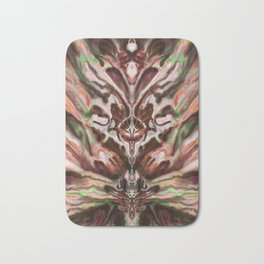 Abstract Anomaly [Berry Blossom] Bath Mat