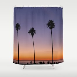 Autumn in La Jolla Shower Curtain