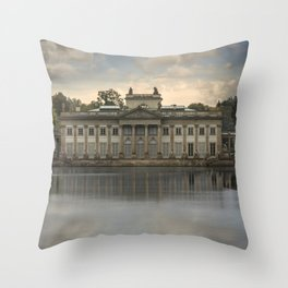 Royal Palace in Warsaw Baths Throw Pillow