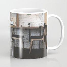 Interior of a hip bistro Coffee Mug
