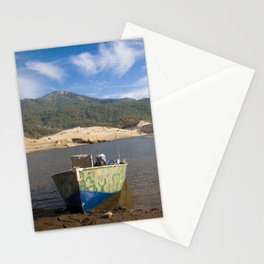 Boat At Water's Edge Stationery Cards